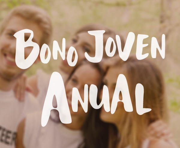 Slider Bonos anuales joven