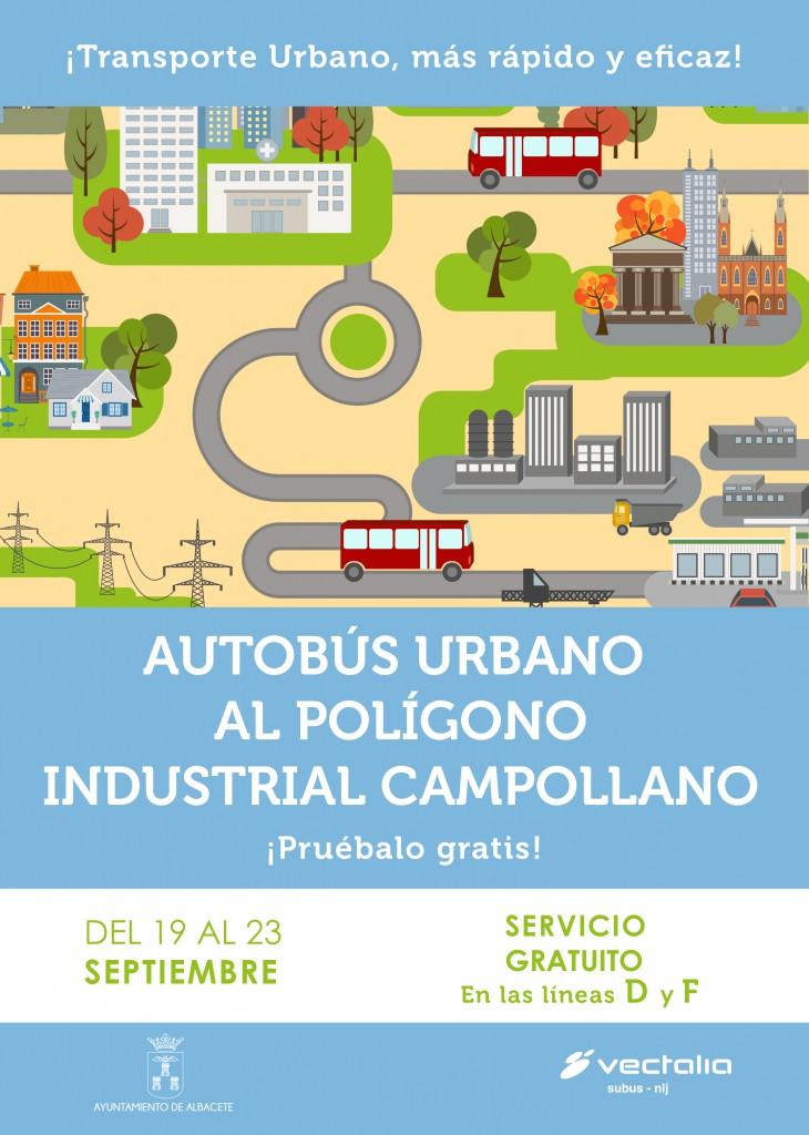 Albacete bus gratis Semana de la Movilidad