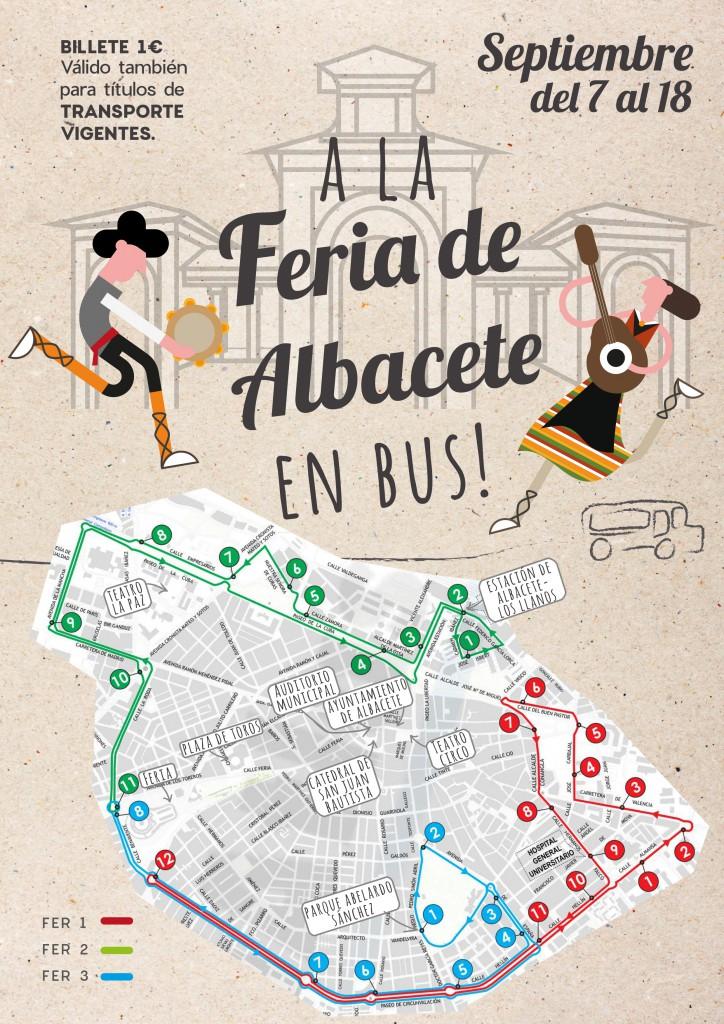 Servicio especial autobús Feria Albacete
