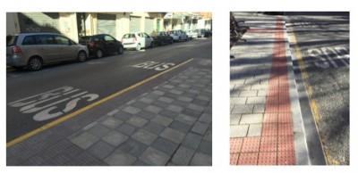 Aceras mejoradas, Vectalia Movilidad en Albacete.