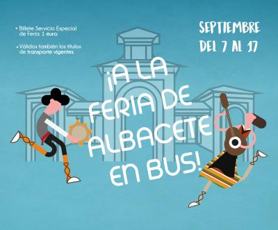 Autobús Feria Albacete 2017