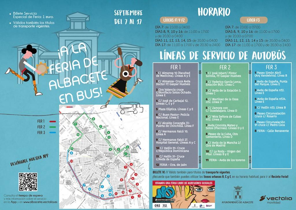 Bus Feria Albacete 2017